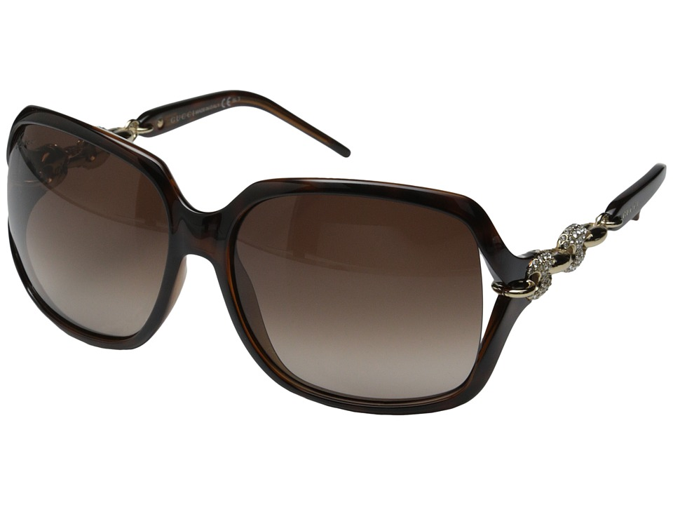Gucci - GG 3584/N/S (Havana/Brown Gradient) Fashion Sunglasses