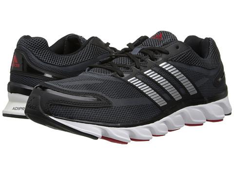 adidas - Powerblaze M (Black/Silver Metallic/Solar Red) Men's Running Shoes