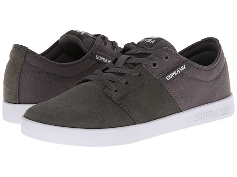 Supra - Stacks II (Charcoal/White) Men