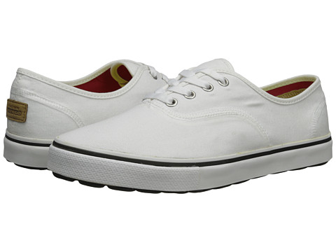 SKECHERS Performance - On the Go Canvas (White) Men