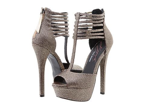Steve Madden - Keyshia Cole - Famus (Gold Multi) High Heels