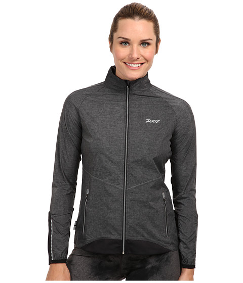 Zoot Sports - Ultra Flexwind Jacket (Black Heather/Black) Women
