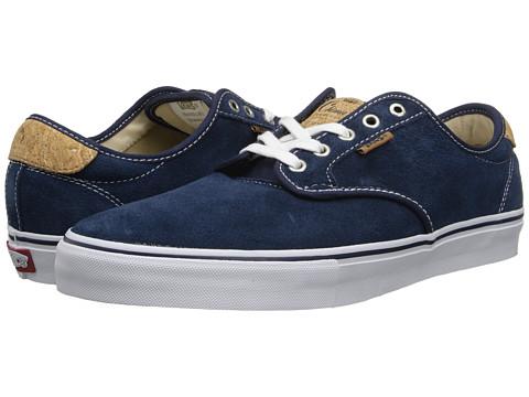 Vans Chima Pro (Cork Navy/Khaki) Men's Skate Shoes