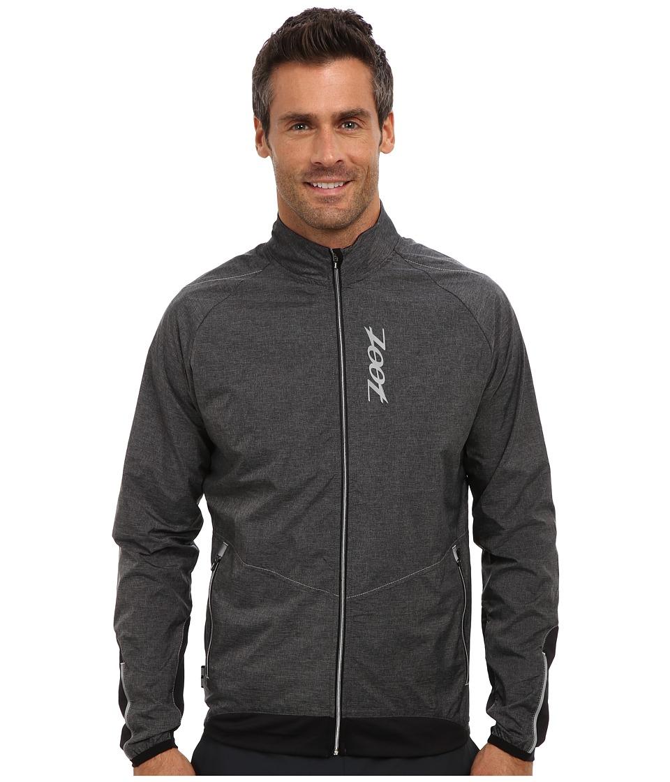 Zoot Sports - Ultra Flexwind Jacket (Black Heather/Black) Men's Jacket
