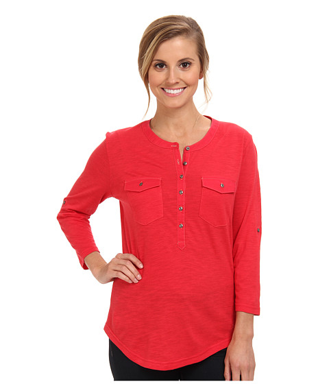 Kuhl - Khloe (Crimson) Women's Long Sleeve Pullover