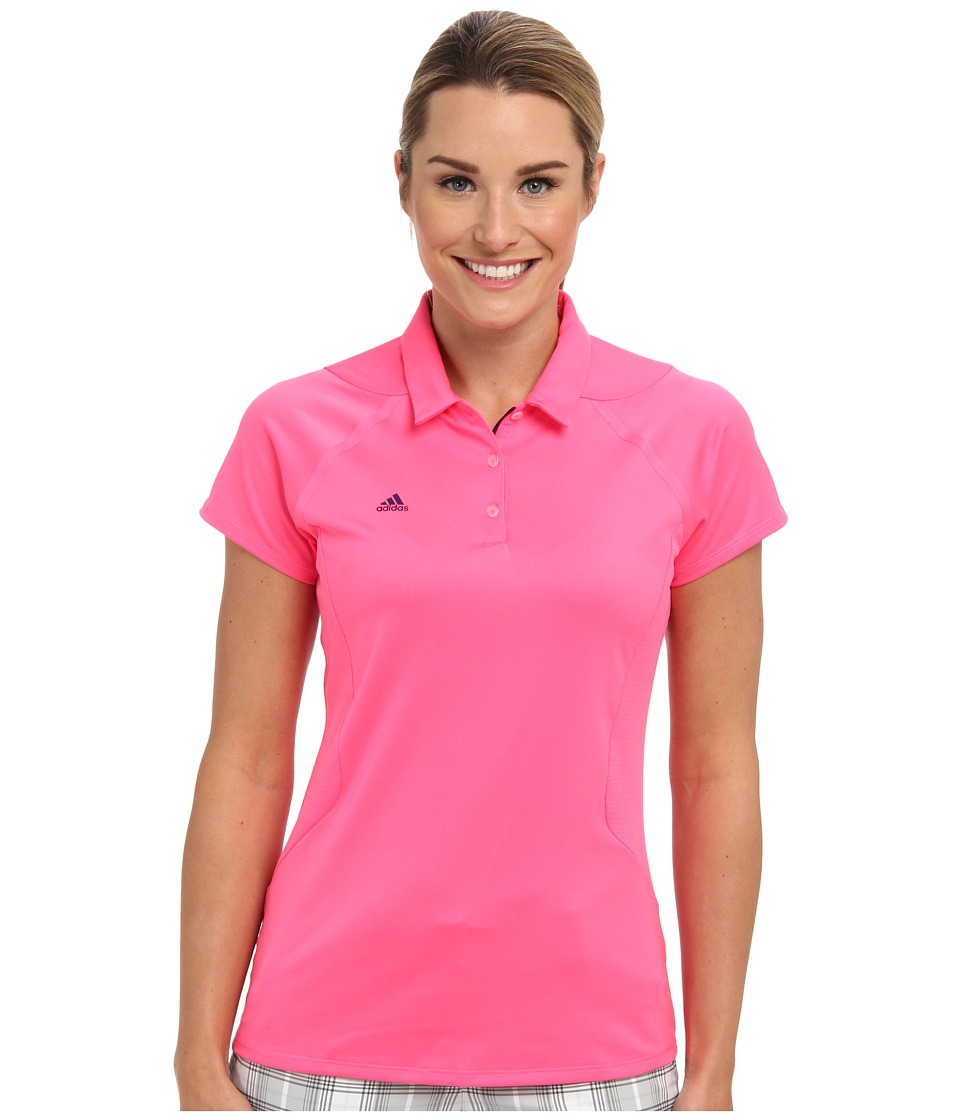 adidas Golf - Puremotion Short Sleeve Polo (Bright Pine) Women's Short Sleeve Knit