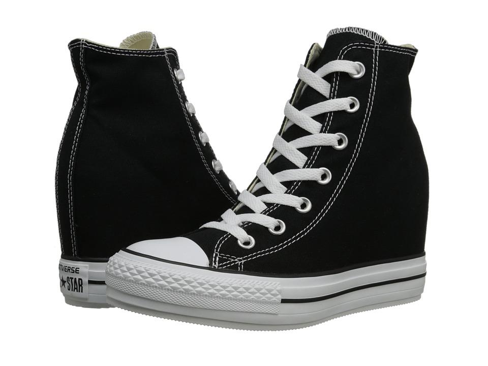 Converse - CTAS Platform Plus (Black) Women's Lace up casual Shoes