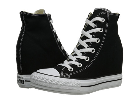 Converse - CTAS Platform Plus (Black) Women's Lace up casual Shoes