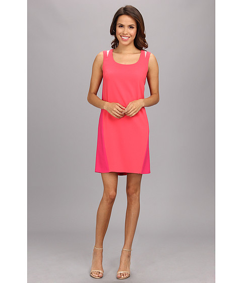 Elie Tahari - Tria Dress (Coral) Women's Dress