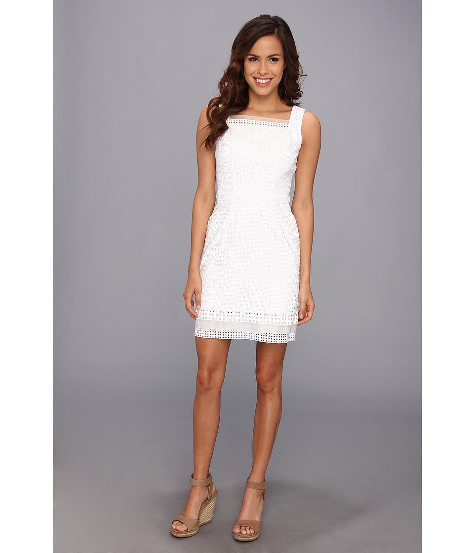 Elie Tahari Erin Dress (White) Women