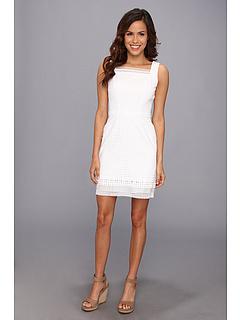 SALE! $179.99 - Save $218 on Elie Tahari Erin Dress (White) Apparel - 54.78% OFF $398.00