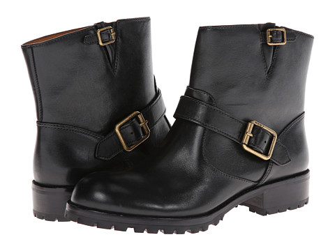 Marc by Marc Jacobs - Buckle Moto Boot (Black) Women