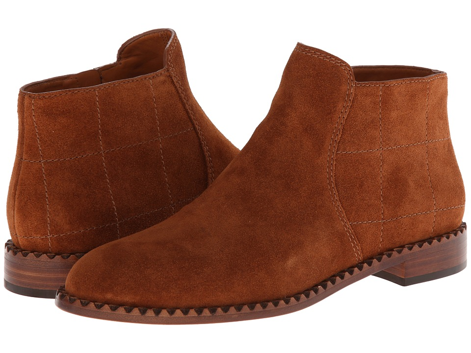 Marc by Marc Jacobs - Flat Ankle Boot (Kahlua) Women