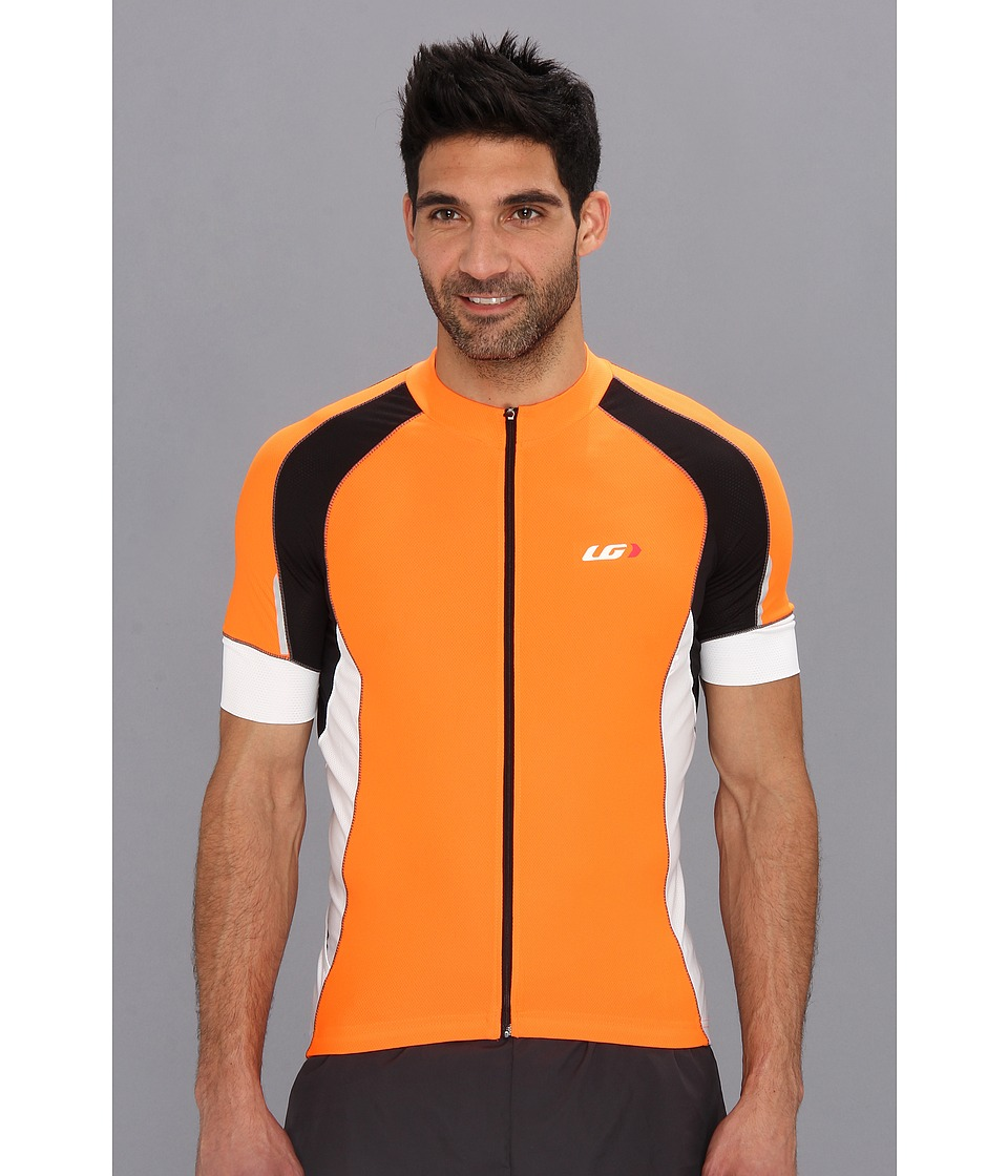 Louis Garneau - Lemmon Vent Jersey (Orange Flourescent) Men's Clothing