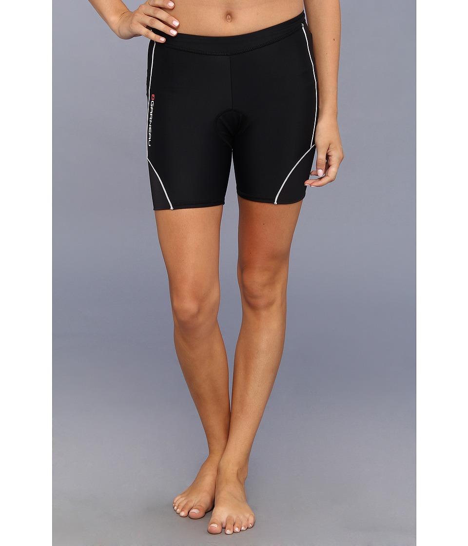 Louis Garneau - Women Comp Shorts (Black/White) Women's Shorts