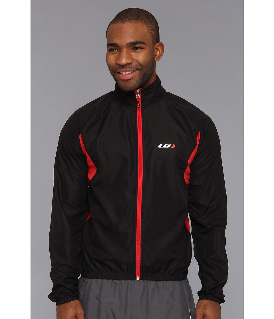 Louis Garneau - Modesto Jacket 2 (Black/Red) Men's Jacket