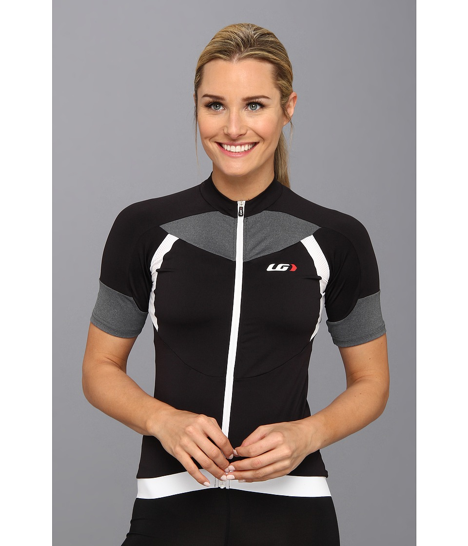 Louis Garneau - Icefit Jersey (Black/Grey/White) Women's T Shirt