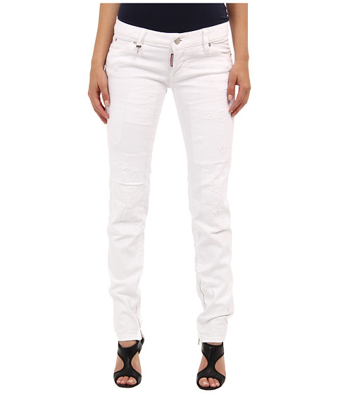 DSQUARED2 - S75LA0553 S39781 100 (White) Women