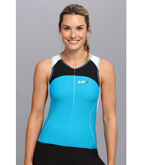 Louis Garneau - Women Comp Sleeveless (Atomic Blue) Women's Sleeveless