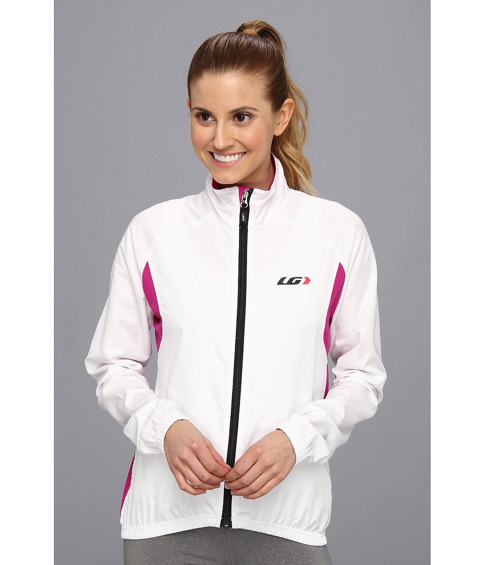Louis Garneau - Modesto Jacket 2 (White/Candy Purple) Women's Jacket