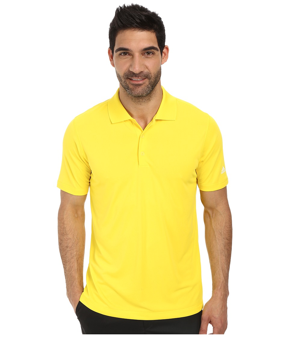 adidas Golf - Puremotion Solid Jersey Polo '15 (Vivid Yellow) Men's Short Sleeve Knit