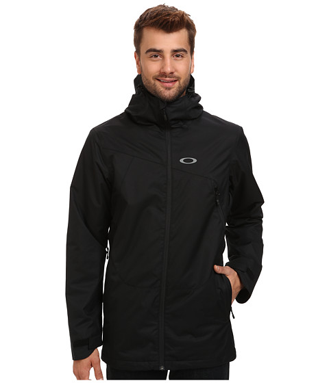 Oakley - Patrol Shell Jacket (Black) Men's Coat