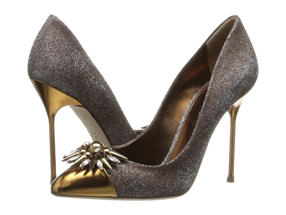 Sergio Rossi - Glam (Var. Gold Brocade) High Heels