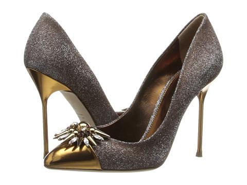 Sergio Rossi - Glam (Var. Gold Brocade) High Heels