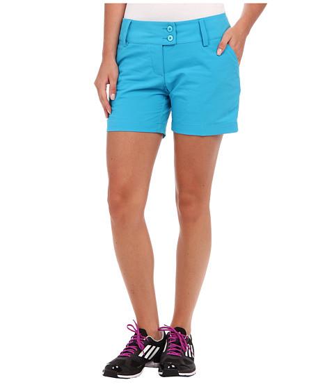 adidas Golf - 5 Contrast Pocket Short (Solar Blue/White) Women