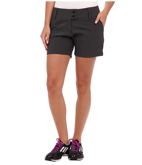 adidas Golf - 5 Contrast Pocket Short (Black/White) Women