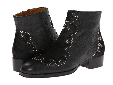 See by Chloe - SB23043 (Black Shaved Calf) Women's Zip Boots