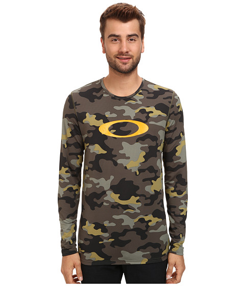 Oakley - Uniform Base Layer Top (Olive Camo) Men