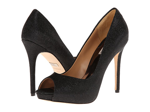 Badgley Mischka - Kassidy II (Black Diamond Drill Fabric) High Heels
