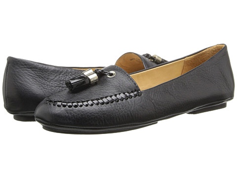 Jack Rogers - Terra (Black w/ Patent) Women's Slip on Shoes