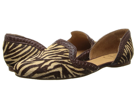 Jack Rogers - Contessa Haircalf (Zebra) Women's Shoes