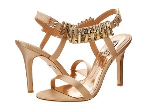 Badgley Mischka - Kallan (Gold Satin) High Heels