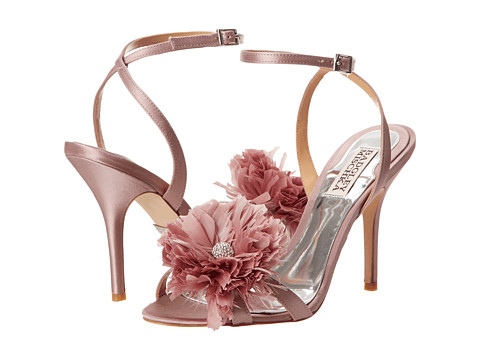 Badgley Mischka - Karol (Lavender Satin) High Heels