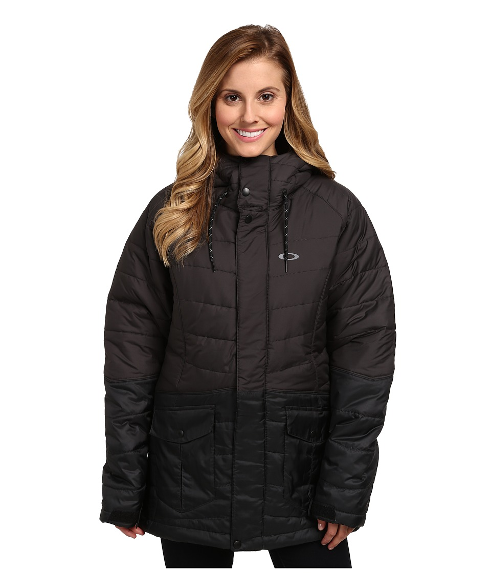 Oakley - Whiskey Quilted Jacket (Jet Black) Women's Coat