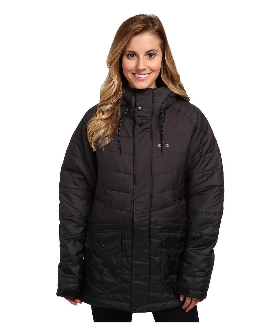 Oakley - Whiskey Quilted Jacket (Jet Black) Women's Coat
