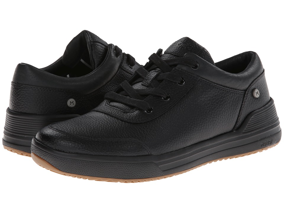 MOZO - The Natural Low - Leather (Black) Men