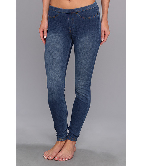 HUE - Original Jeanz Distressed/Faded (Medium Wash) Women