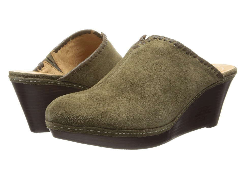 Jack Rogers - Simone Suede (Olive) Women