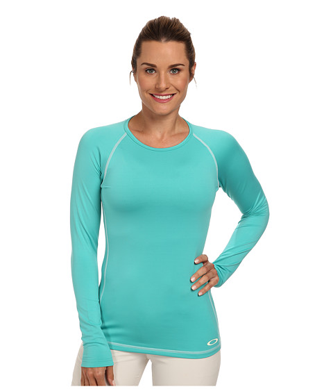 Oakley - Uniform Baselayer Top (Turquoise) Women's Clothing