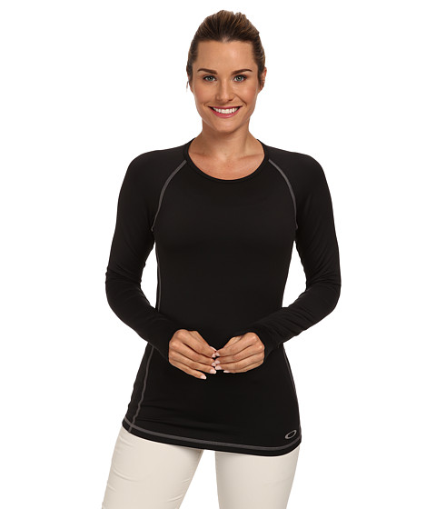 Oakley - Uniform Baselayer Top (Jet Black) Women's Clothing