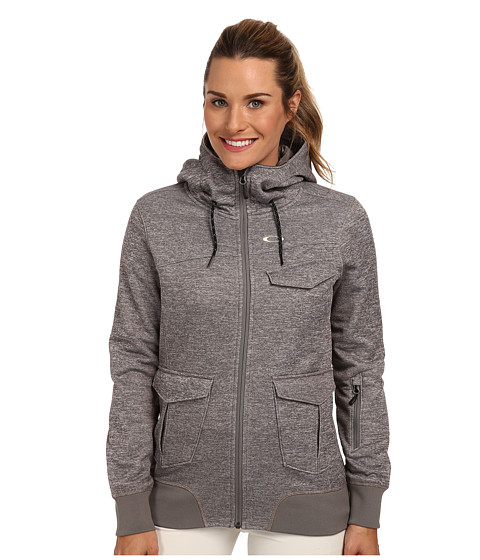 Oakley - Xray Hoody (Heather Grey) Women's Sweatshirt