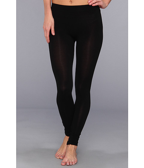HUE - Seamless Legging (Black) Women's Casual Pants