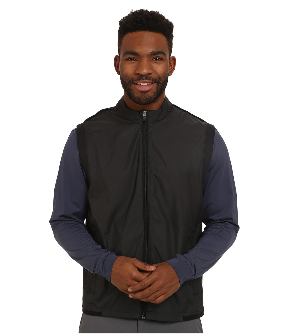 adidas Golf - Climaproof Wind Vest (Black/Black) Men's Vest