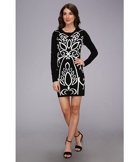 525 america - Pattern Dress (Black Combo) Women