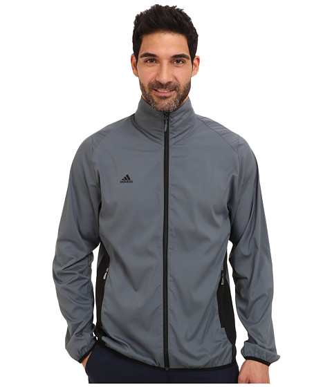 adidas Golf - Puremotion Wind Jacket (Lead/Black) Men