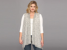 DKNY Jeans Plus Size Spacedye Cozy Vest